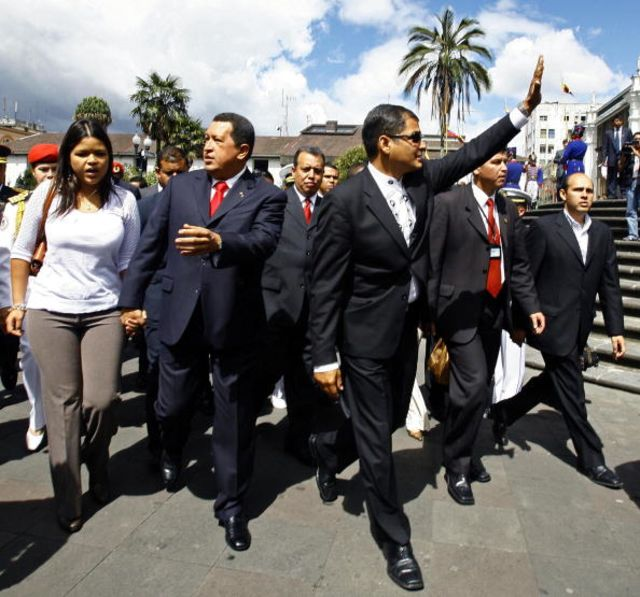 Venezuela's virtual first lady.