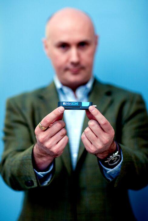 Oxford Nanopore Plans Portable Gene-Sequencing Device