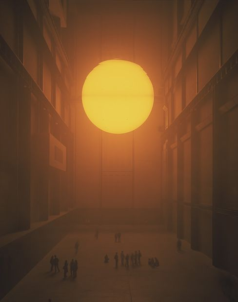 A work by artist Olafur Eliasson