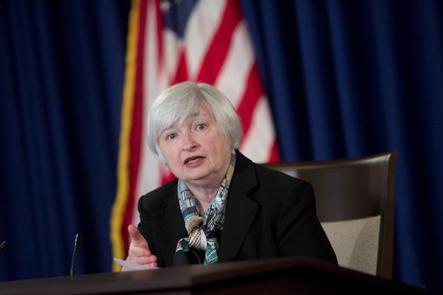 Muddled communications from Federal Reserve Chair Janet Yellen aren't a gaffe. They reflect a muddled policy.Photographer: Andrew Harrer/Bloomberg