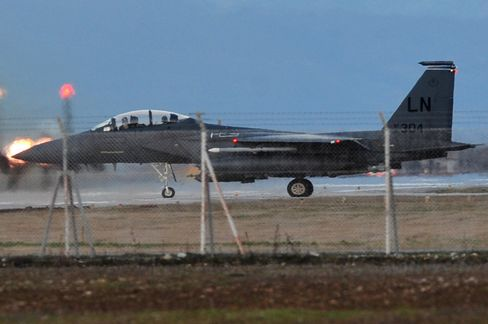 U.S. F-15E Jet Crashes in Libya; Both Crew Members Rescued