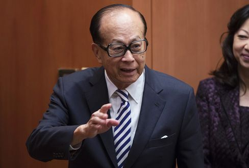 Hong Kong Billionaire Li Ka-Shing