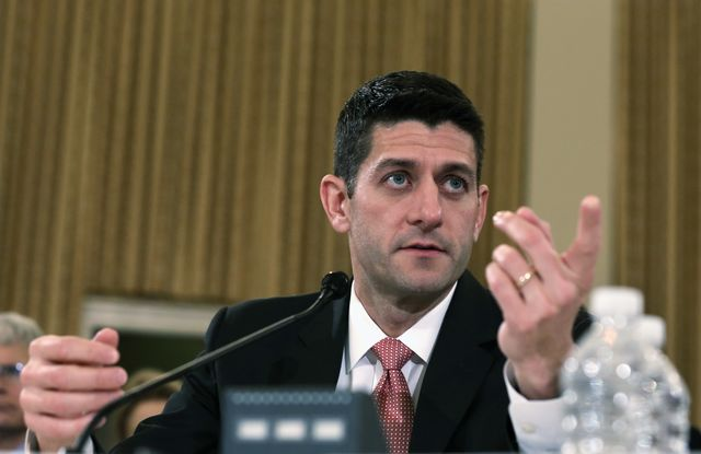 Keep dreaming, Representative Ryan. Photographer: Alex Wong/Getty Images