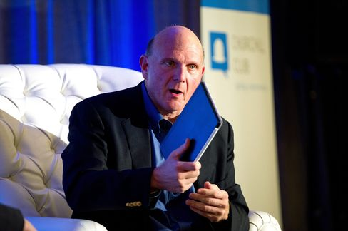 Microsoft Corp. Chief Executive Officer Steve Ballmer