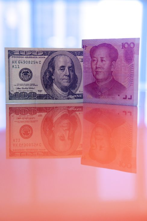 Yuan Breaks Through 6.5 Per Dollar for First Time Since 1993