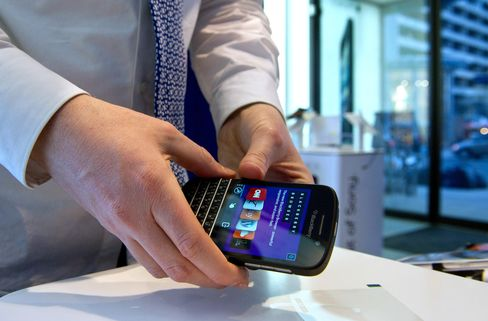 BlackBerry Must Be Wary of Security Concerns, Harper Says