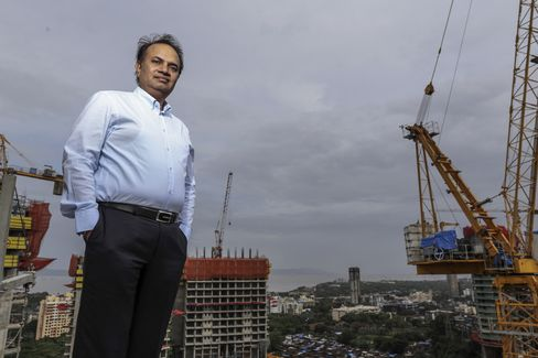 Babulal Varma, managing director and co-founder of Omkar Realtors & Developers Pvt. Photographer: Dhiraj Singh/Bloomberg
