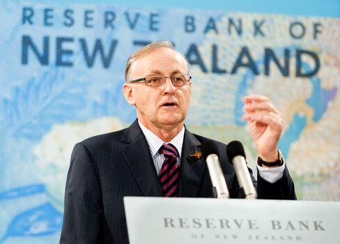 Reserve Bank of New Zealand Governor Bollard