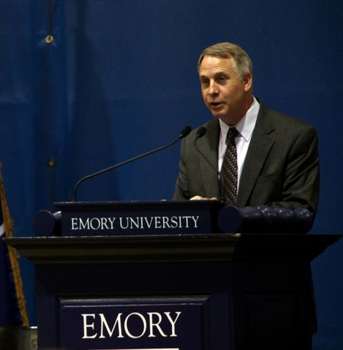 Emory University Inflated Students' Entrance Exam Scores