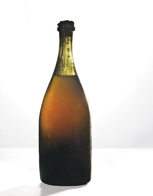 A 1774 bottle of