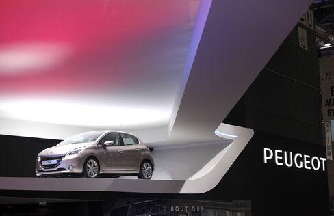 Peugeot First-Quarter Sales Drop 7.3% as European Market Shrinks