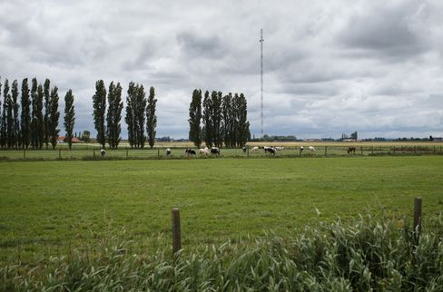 Military Towers Used by Traders in Arms Race for Speed
