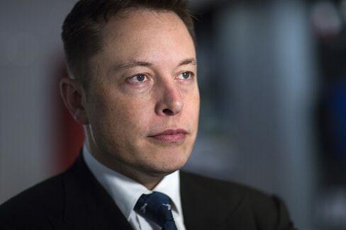 Tesla Co-Founder Elon Musk