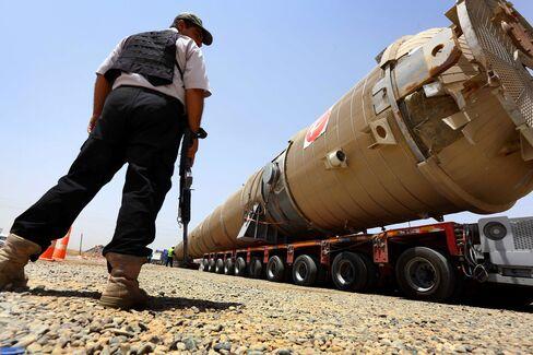 Guarding Iraq's Oil