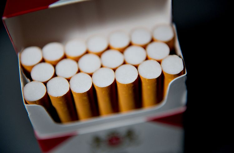 Minimum cigarettes price state