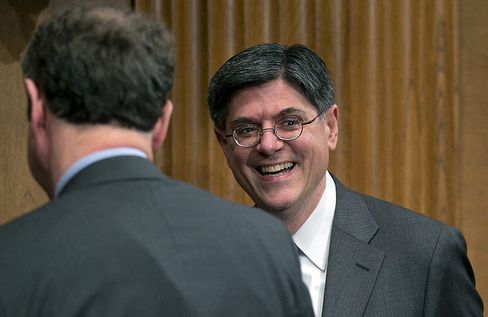 Lew Says He Is Optimistic About Agreement Over U.S. Budget