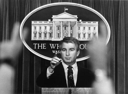 Reagan Press Secretary Larry Speakes
