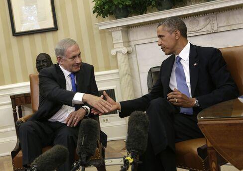 U.S. President Barack Obama & Israeli PM Benjamin Netanyahu