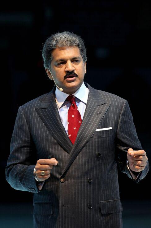 Mahindra, vice chairman & managing director of Mahindra