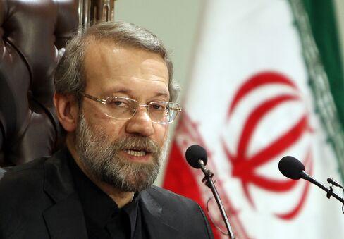 Iran's Parliament Leader Ali Larijani