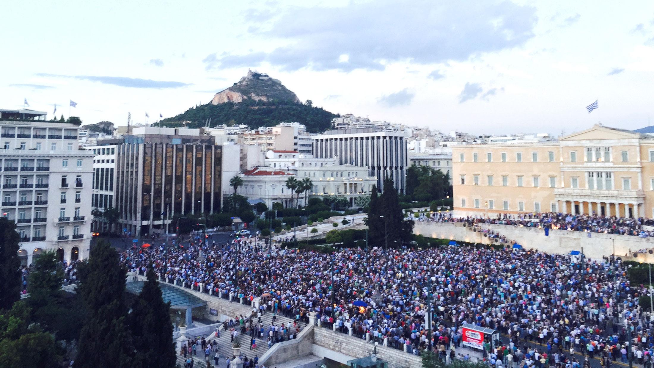 Hellas ser ut til Russland som retter seg mot Europa snubler.