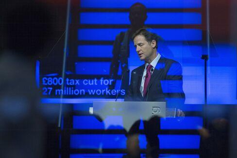 U.K. Deputy Prime Minister Nick Clegg Speaks Today