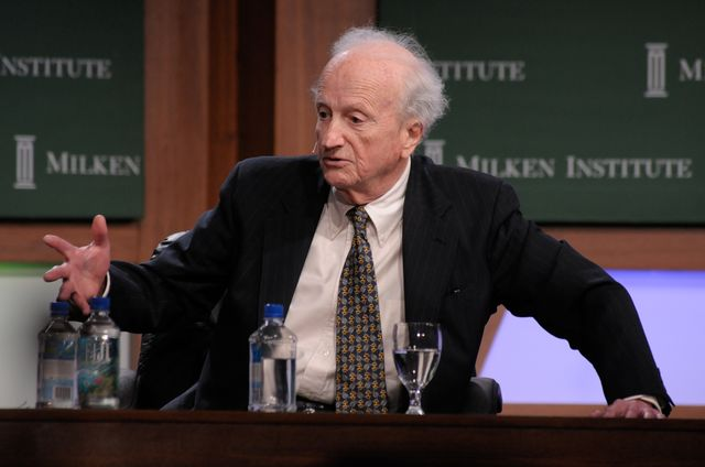 Gary Becker knew why we like our favorite restaurants.Photographer: Jamie Rector/Bloomberg