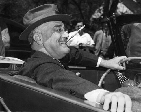 Former President Franklin Delano Roosevelt