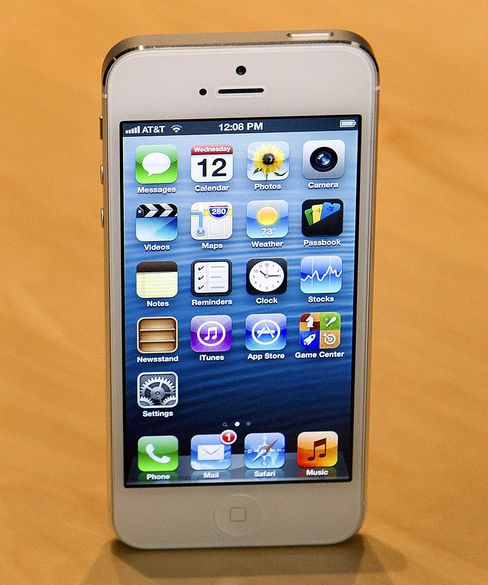 Apple Hits Record as IPhone 5 Seen Sold Out