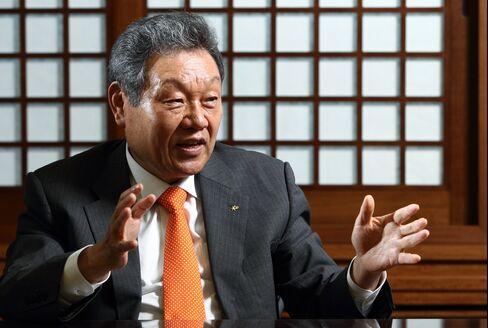 KB Financial Group Inc. Chairman Euh Yoon Dae