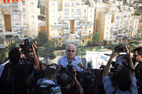 Israel's Housing Minister Uri Ariel