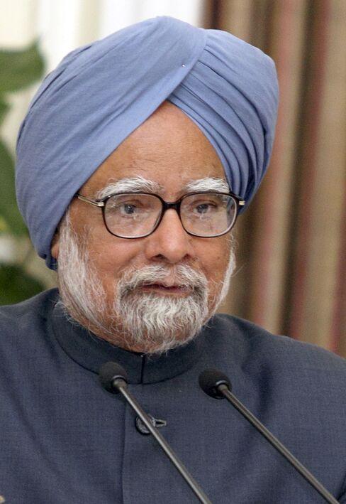 Indian Prime Minister Manmohan Singh