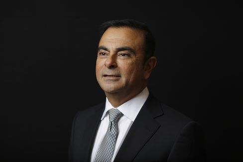 Renault SA Chief Executive Officer Carlos Ghosn