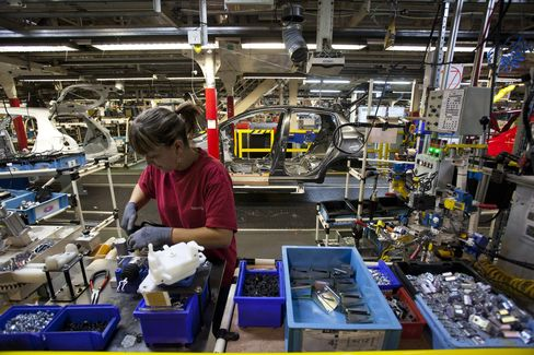 French Industrial Production Tumbles as Recession Looms