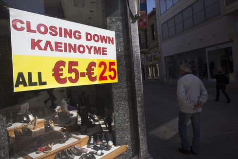 Cyprus Economy May Shrink 13% in 2013, Government Spokesman Says