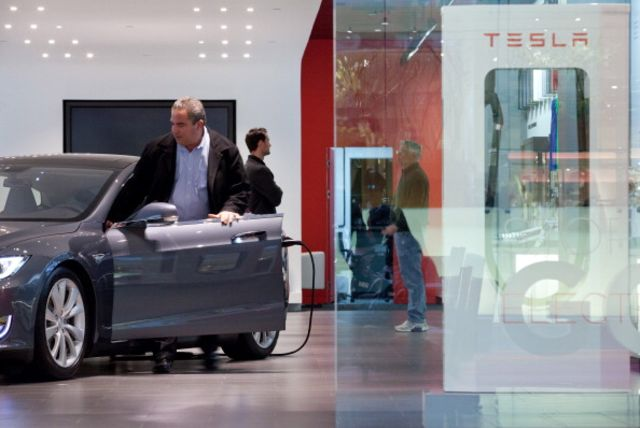Ground Zero of the Tesla revolution. Photographer: Emile Wamsteker/Bloomberg