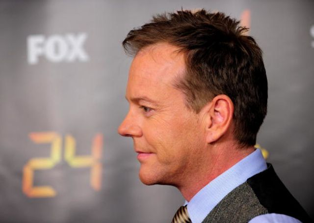 Maybe he just wants to beKiefer Sutherland.