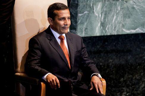 President Ollanta Humala