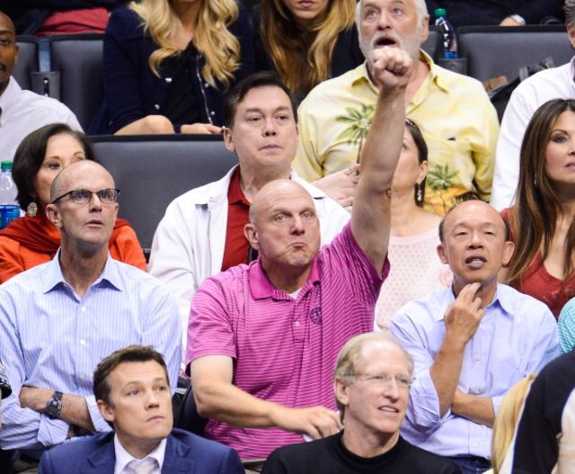 Fact: There are no bad photographs of Steve Ballmer.Photographer: Noel Vasquez/GC Images