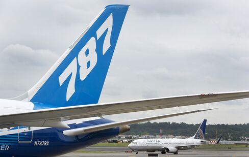 United Says Boeing 787 Taken Off Flight Schedule Through June 5