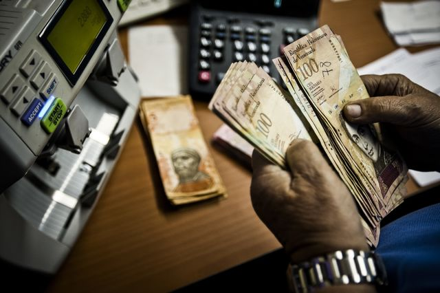 It'll take a lot of antacid to solve Venezuela's currency troubles. Photographer: Meridith Kohut/Bloomberg