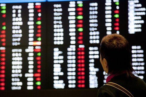 Japan Leads Asian Stocks Higher on Yen as Won Falls on N.Korea