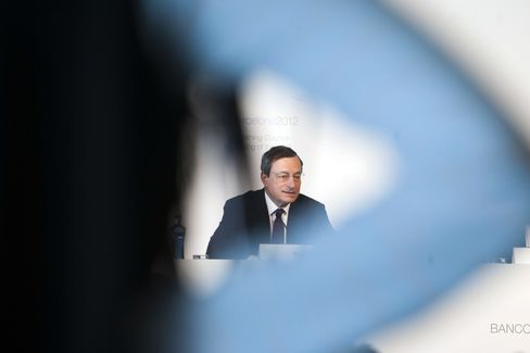 Draghi Leaves Door Open for Further ECB Action as Elections Loom