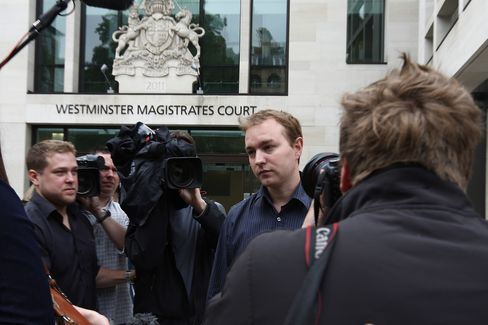 Tom Hayes at the Westminster Magistrates court in London on June 20, 2013.