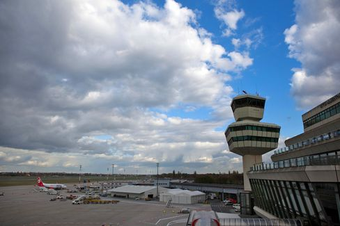 The Control Tower At Berlin Tegel Airport
