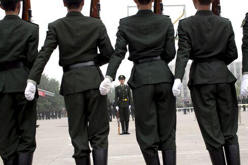 PLA Guard of Honor