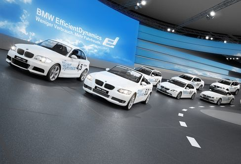 Audi Targets Wow With Indoor Car-Show Track to Best BMW