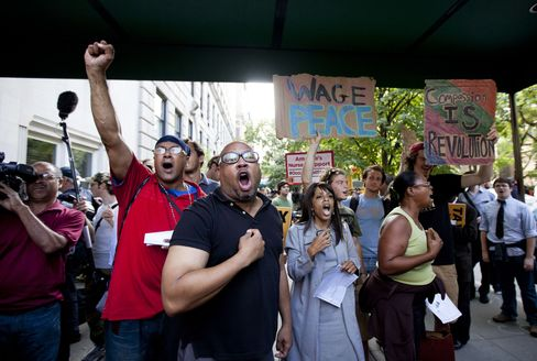 Anti-Wall Street Protesters Target NYC Homes