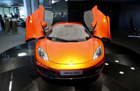 McLaren Offers Race Model of Ferrari-Rivaling Supercar
