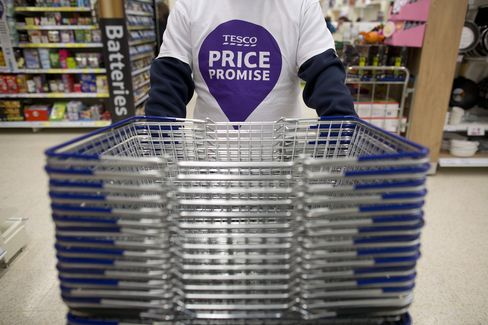 Tesco Signals End to Space Race as Grocer Banks on Smartphones